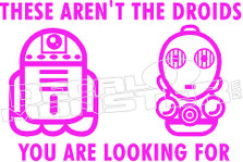 Star Wars Funny Decal Sticker