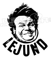 Chris Farley Decal Sticker