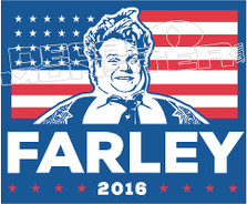 Chris Farley 3 Decal Sticker