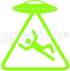 UFO Zone Decal Sticker
