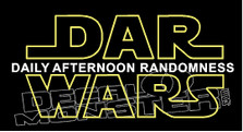 Dar Wars Decal Sticker