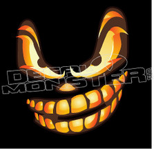 Halloween Pumpkin 1 Decal Sticker