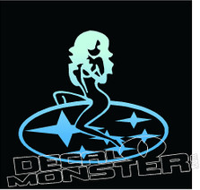 Subaru Girl JDM Decal Sticker