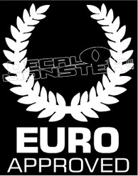 Euro Approved Decal Sticker