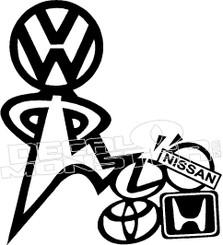 Volkswagen Superior Decal Sticker