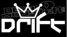 Drift King JDM  Decal Sticker