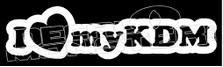 I Heart My KDM JDM Decal Sticker