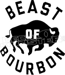 Beast of Bourbon Decal Sticker