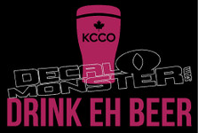 Canada KCCO Beer 1 Decal Sticker