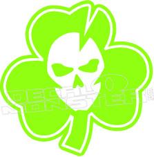 Lucky Skull Decal Sticker