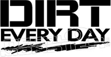 Dirt Everyday Jeep Decal Sticker
