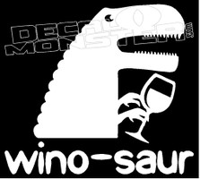 Winosaur Drink Decal Sticker