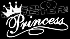 Princess Girl Stuff Decal Sticker