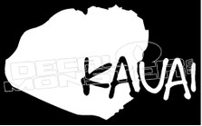 Kauai Island Hawaii Decal Sticker