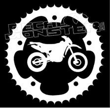 Sprocket Dirt Bike Decal Sticker