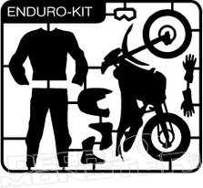 Enduro Dirt Bike Kit Decal Sticker