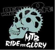 MTB Ride for Glory Mountain Bike Decal Sticker