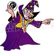 Mystical Wizard 1 Decal Sticker