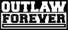 Outlaw Forever Decal Sticker