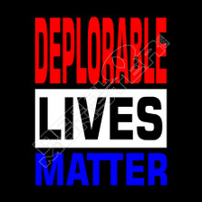 Deplorable Lives Matter Political Funny Decal Sticker