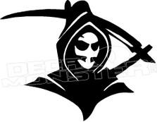 Grim Reaper Devil 1 Decal Sticker