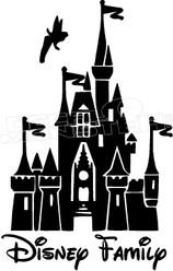 Disney Family Castle 13 Decal Sticker
