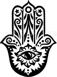 Hand of Fatima Decal Sticker