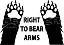 Right to Bear Arms 1 Decal Sticker