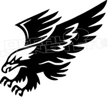 Eagle Silhouette 2 Decal Sticker