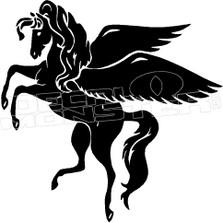 Mystical Pegasus Decal Sticker