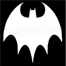 Batman Logo 18 Decal Sticker