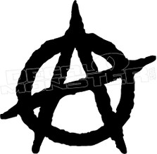 Anarchy 4 Decal Sticker