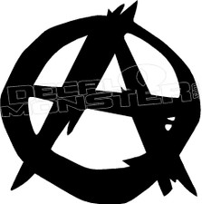 Anarchy 5 Decal Sticker