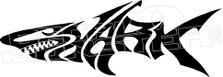Shark Wording 6 Decal Sticker