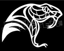 Cobra Snake Silhouette 7 Decal Sticker