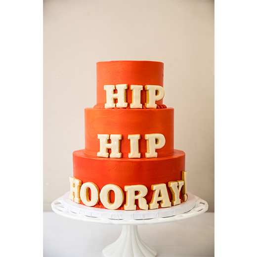 Hip Hip Hooray! Cookie Cake