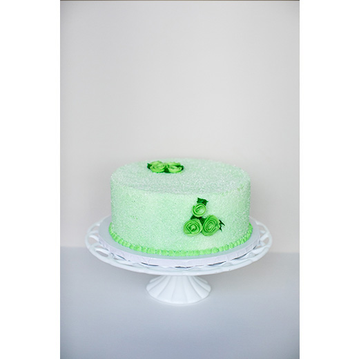 Sparkle Corsage Cake