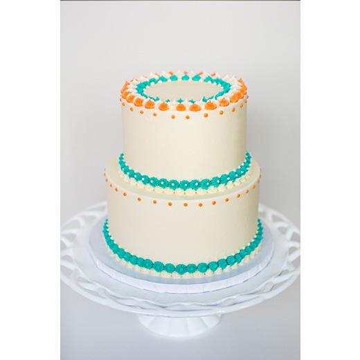 Star Tip Cake