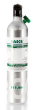 GASCO CO2 400 PPM / Air Calibration Gas in a 105 Liter Cylinder