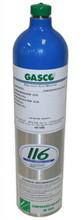 GASCO 304 Mix, Carbon Monoxide 100 PPM, Methane 50%, Balance Air in 116 Liter ecosmart Cylinder