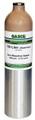 GASCO 377 Mix, Carbon Monoxide 250 PPM, Methane 1.45% Volume, Oxygen 17%, Balance Nitrogen in a 105 Liter Cylinder C-10 Connection