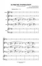 Supreme Inspiration choral arrangement.