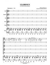 Glorious Chant Chart