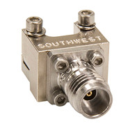 1492-04A-5 main view for Southwest Microwave 2.4 mm Female End Launch Connector - Standard Profile tested to 50 GHz