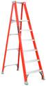 8' Fiberglass Platform Ladder, Type IA 300lb - Louisville Ladder