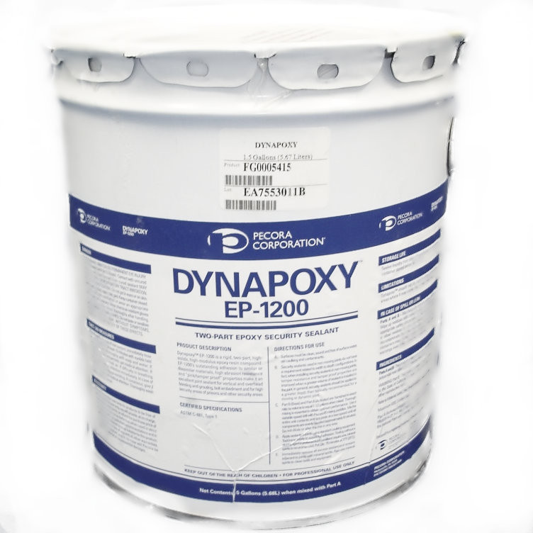 Dynapoxy EP-1200 Two-Part Security Sealant, 1 5 gal  - Pecora