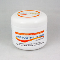 Magsoothium CBD 4oz Magnesium and Arnica Warming Cream