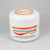 Magsoothium CBD 4oz Magnesium and Arnica Warming Cream