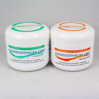 4oz Warming and Cooling CBD/Magnesium/Arnica Cream Gift Set