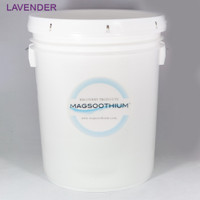 5 Gallon Lavender Infused Magnesium Calming Recovery Crystals